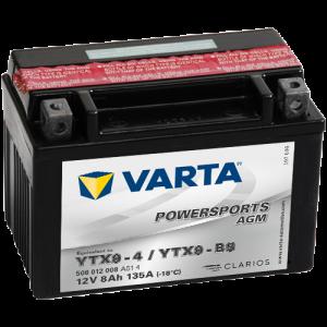 BATERIE MOTO VARTA POWERSPORTS GEL 19Ah 519 901 017